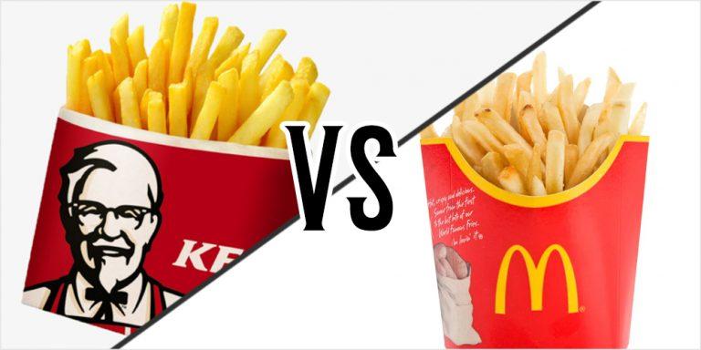 Fakta Mengenai Kentang McD Dengan KFC