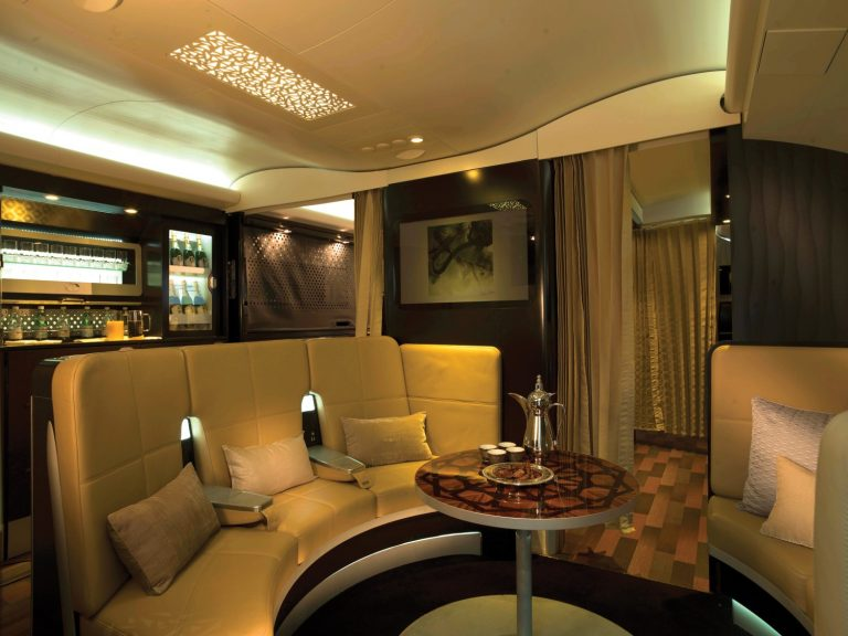 Top Five of The Most Luxurious First Class Airlines
